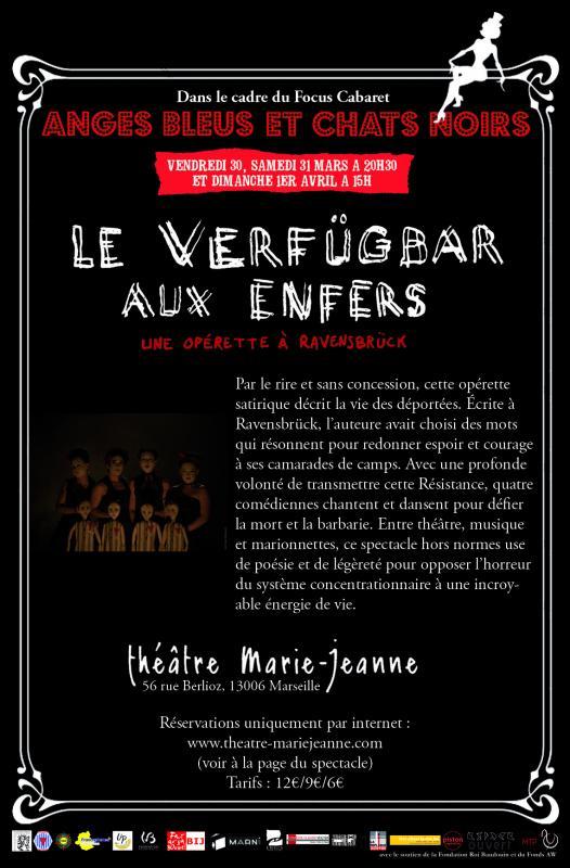Le Verfügbar aux Enfers au Théâtre Marie Jeanne